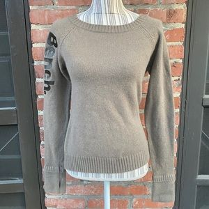 Bench. Thumb Hole Angora Sweater Med